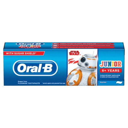 Oral-B Junior Star Wars Tandpasta, 6+ År 75 ml