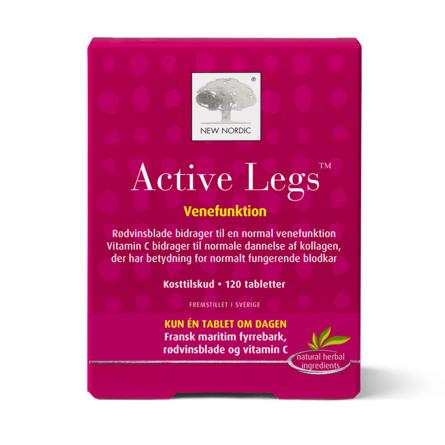 New Nordic Active Legs 120 tabl.