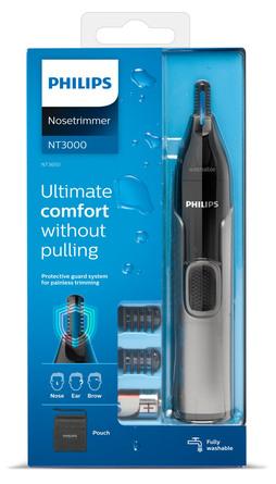 Philips Næse-, Øre- & Øjenbrynstrimmer Serie 3000