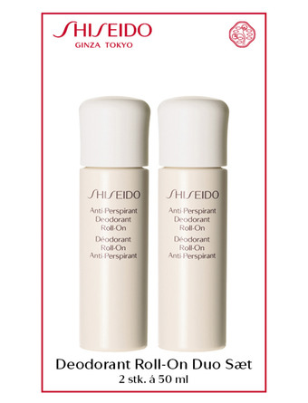 Shiseido Deodorant Deo Duo Roll On Set 2x50 ml