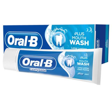 Oral-B Complete Refreshing Clean Tandpasta + Mundskyl 75 ml