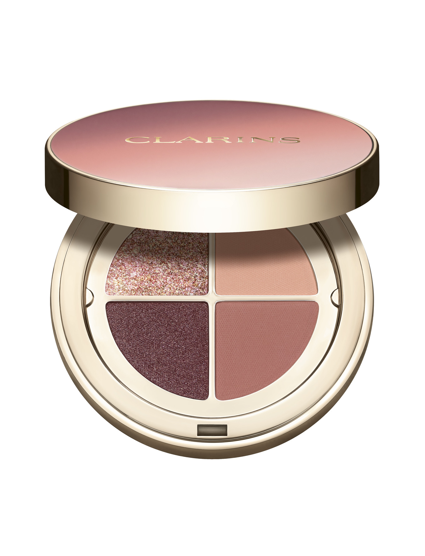 Køb Clarins 4-Colour Eyeshadow Palette 01 Fairy tale nude