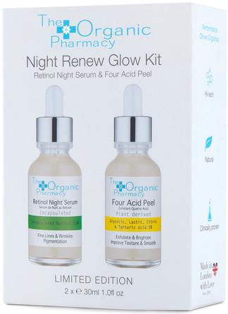 The Organic Pharmacy Night Renew Glow Kit