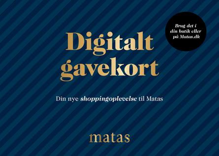Matas Digitalt Gavekort Valgfrit beløb