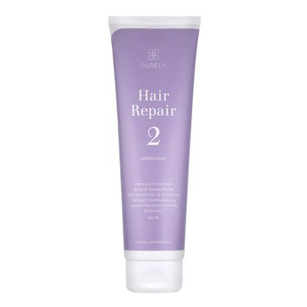 Purely Professional Hair Repair 2 - Intensiv 2-i-1 Hårmaske og Pleje af Hovedbund 150 ml