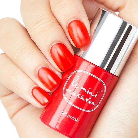 Le mini macaron Single Gel Polish Cherry Red