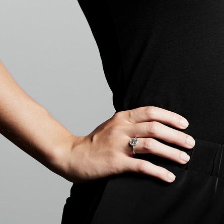 Pilgrim Ring Gerda Sølv Belagt