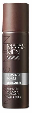 Matas Striber Men Shaving Foam til Sensitiv Hud Uden Parfume 200 ml