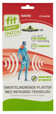 FIT Plaster Plaster øvre ryg/nakke 8 stk