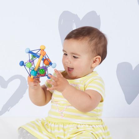 Manhatten Toy Skwish ColorBurst Multi Color Pastel