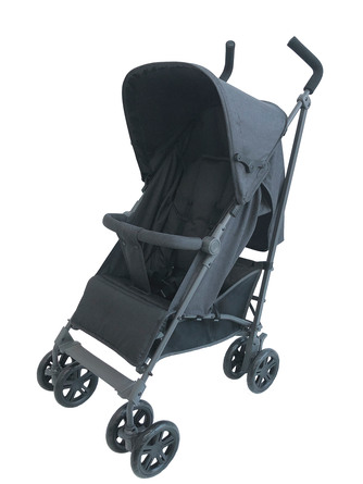 Basson Baby Paraplyvogn Antracit Antracit - Travel 100