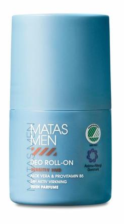 Matas Striber Men Deo Roll-On Til Sensitiv Hud Uden Parfume 50 ml