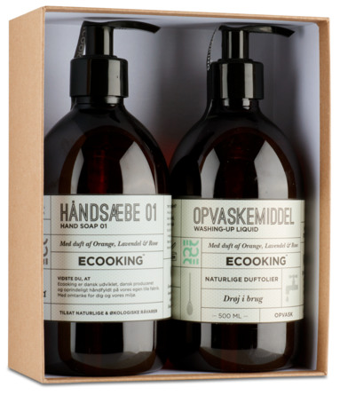 Ecooking Håndsæbe og Opvaskemiddel Sampak 2 X 500 ml