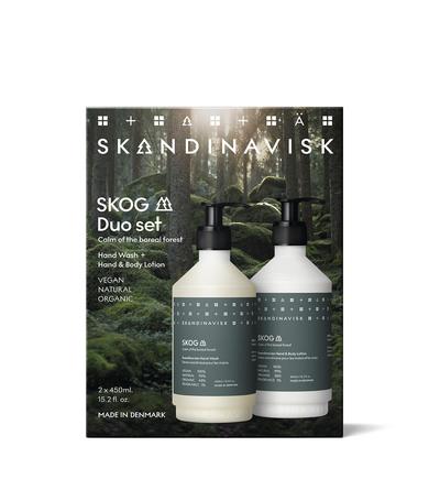SKANDINAVISK SKOG Wash & Lotion giftset 2 x 450 ml