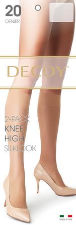 Decoy Kneehigh Silklook 2pk Sierra, 20 Den., One size