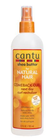 Cantu Shea Butter Comeback Curl Next Day Curl Revitalizer 355 ml