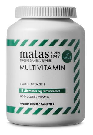 Matas Striber Multivitamin 300 tabl