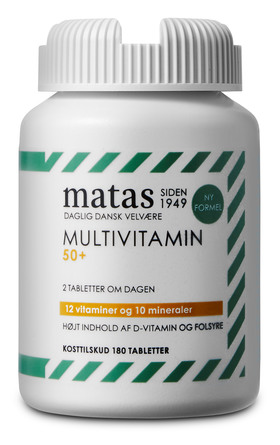 Matas Striber Multivitamin 50+ 180 tabl