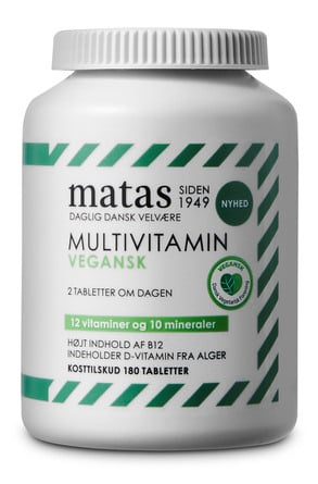 Matas Striber Multivitamin Vegan 180 tabl.