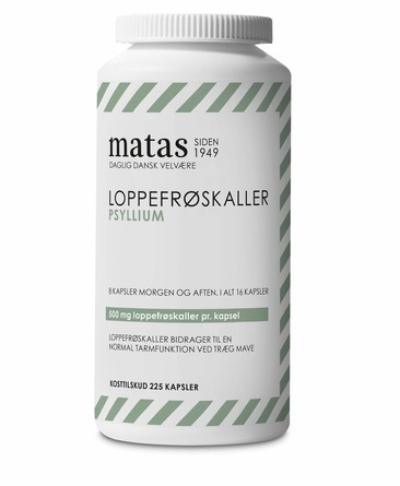 Matas Striber Loppefrøskaller 225 kapsl.