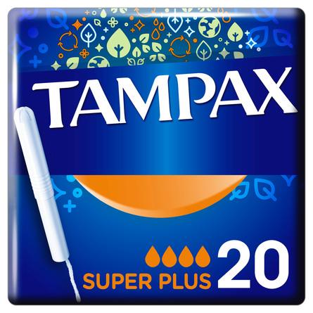 Tampax Super Plus Tamponer Indføringshylster 20 stk.