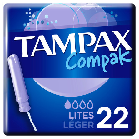 Tampax Compak Lite 22 stk.