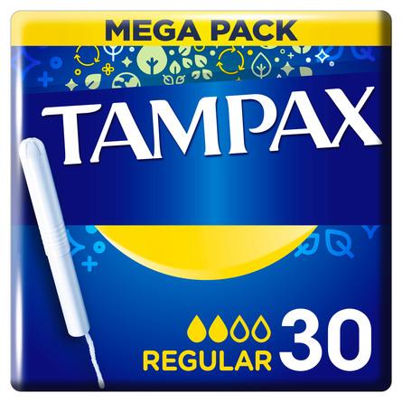 Tampax Regular Tamponer Med Indføringshylster 30 stk.