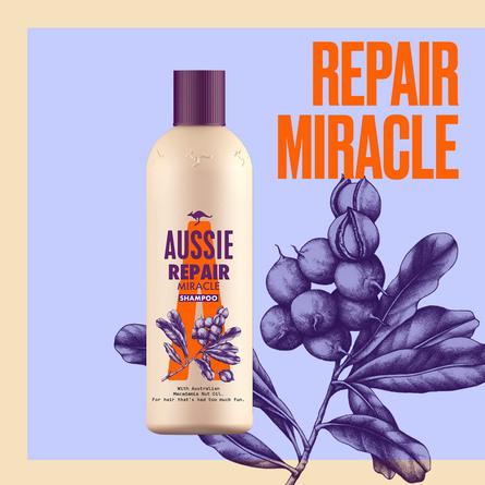 Aussie Repair Miracle Shampoo til Meget Tørt Hår 300 ml