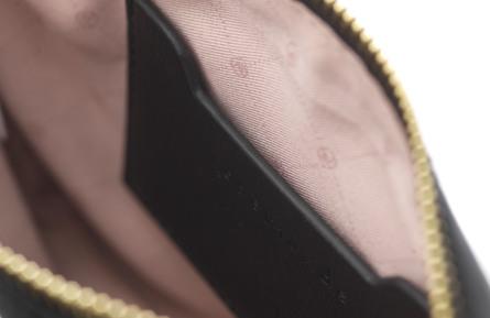 Rosemunde Mini Clutch Sort/guld