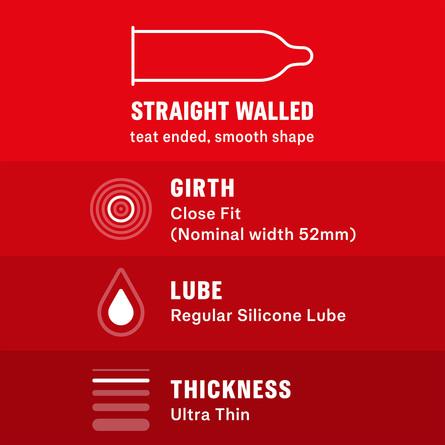 Durex Feel Ultra Thin kondomer 10 stk