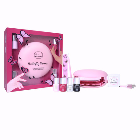 Le mini macaron Gel Manicure Kit Le Maxi Butterfly Dreams