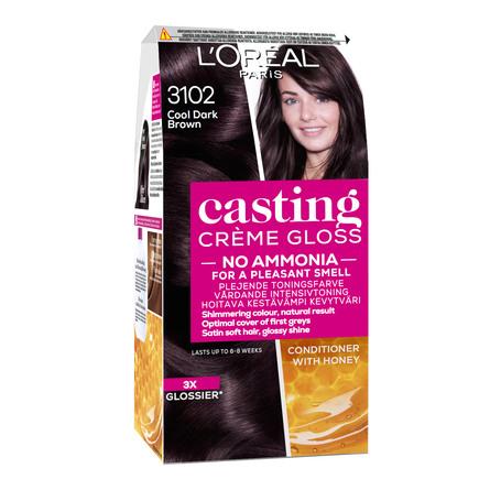L'Oréal Paris Casting Crème Gloss 310 Cool dark brown