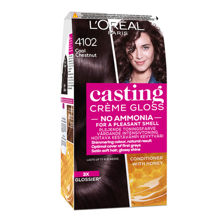 L'Oréal Paris Casting Crème Gloss 410 Cool chestnut