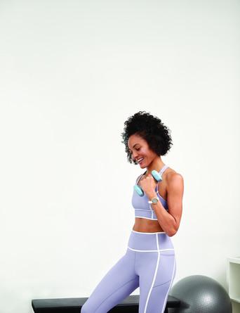 Garmin Lily Sport Edition Cream Gold / White