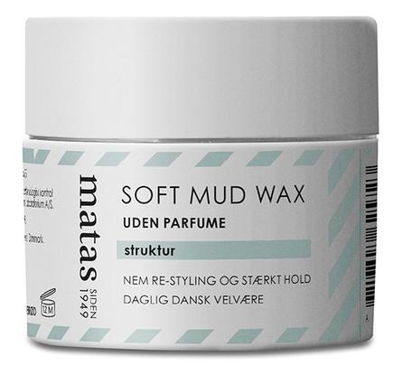 Matas Striber Soft Mud Wax Uden Parfume 75 ml