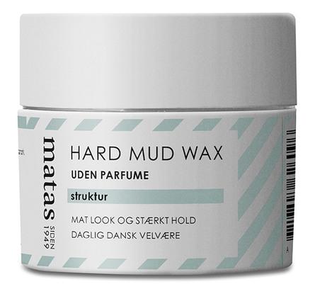 Matas Striber Hard Mud Wax Uden Parfume 75 ml