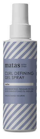 Matas Striber Curl Defining Gel Spray 150 ml