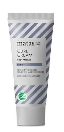 Matas Striber Curl Cream Rejsestørrelse Uden Parfume 30 ml