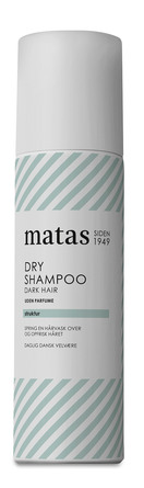 Matas Striber Dry Shampoo Dark Hair Uden Parfume 200 ml