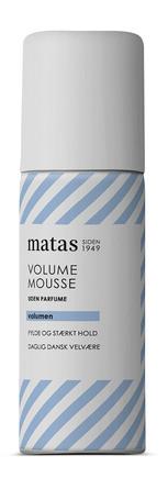 Matas Striber Volume Mousse Rejsestørrelse Uden Parfume 50 ml