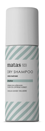 Matas Striber Dry Shampoo Rejsestørrelse Uden Parfume 50 ml