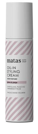 Matas Striber Oil-in Styling Cream Uden Parfume 100 ml
