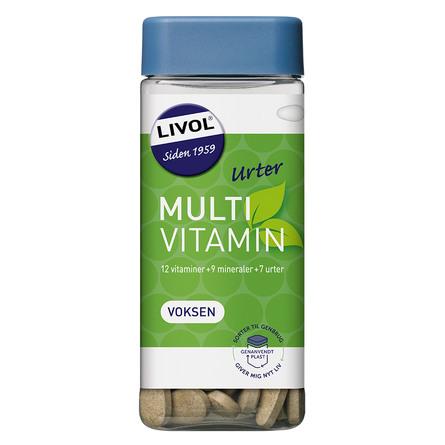 Livol Multivitamin m.urter 150 tabl