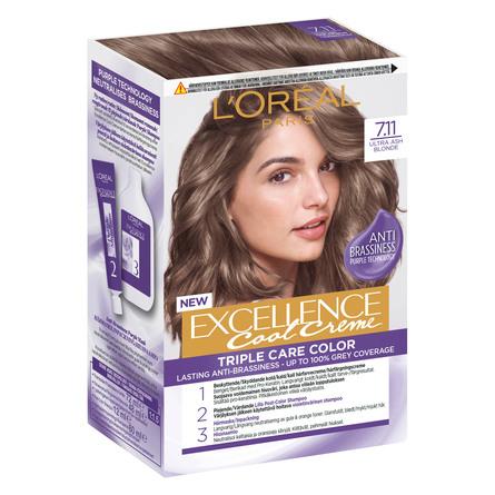 L'Oréal Paris Hårfarve 7.11 Ultra Ash Blond