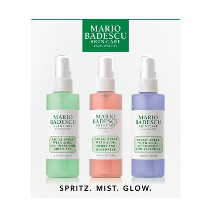 Mario Badescu Spritz.Mist.Glow Kit 3 x 118 ml