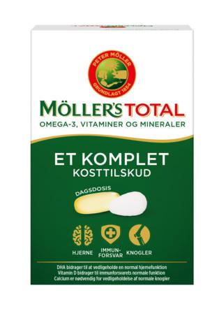 Møllers Tran Total + omega, 56 stk 56 stk