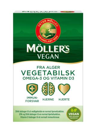 Møllers Tran Vegan Omega-3, 30 stk 30 stk