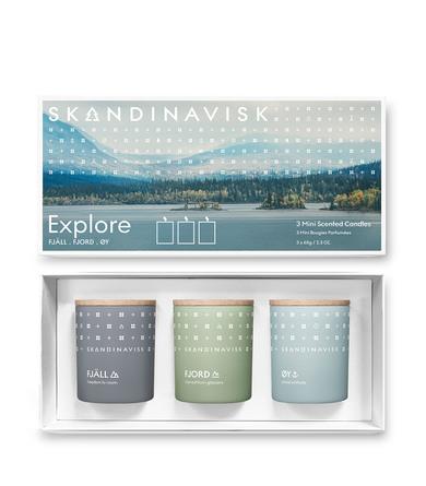 SKANDINAVISK Giftset 3 Mini Candles