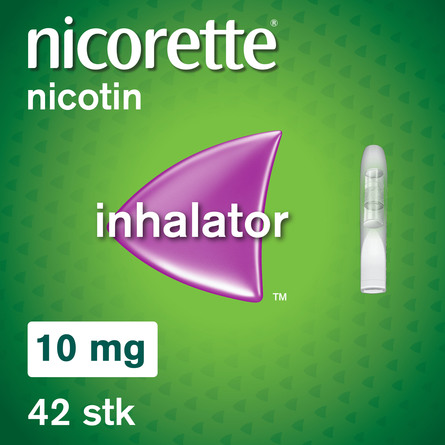 Nicorette® Inhalator+Refil 10 mg 42 stk