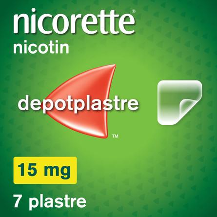Nicorette® Plaster 15 mg 7 stk